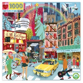New york city life 1000 pc puzzle