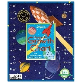 Eeboo - outer space growth chart