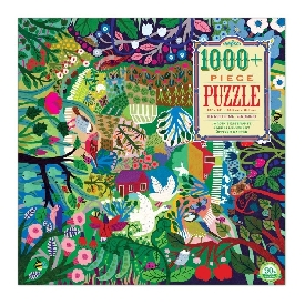 Bountiful garden puzzle 1000 pc.