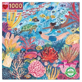 จิ๊กซอว์ลาย coral reef 1000 ชิ้น
