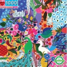 จิ๊กซอว์ลาย peacock garden 1000 ชิ้น