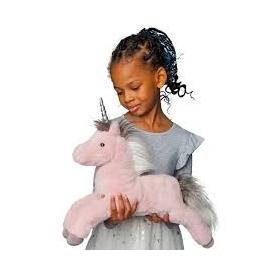 Esme mauve unicorn, large doll