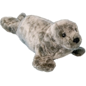 Speckles monk seal doll