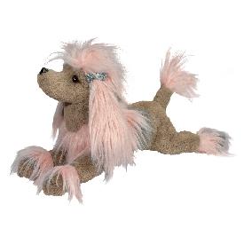 Zaza pink poodle fur fuzzle doll