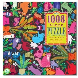 cats at work 1000 pieces puzzle