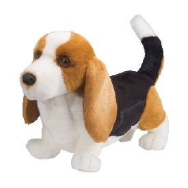 Harold basset hound doll