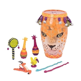 Jungle drum w/ instruments
