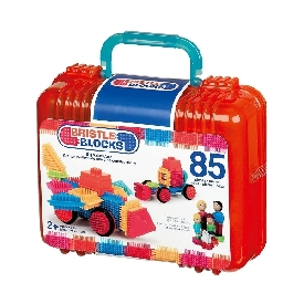 Bristle blocks in carry case - 85 pcs.