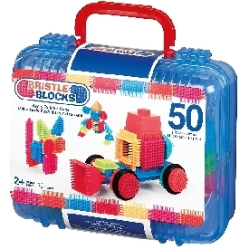 bristle blocks in case - basic builder case 50 pcs