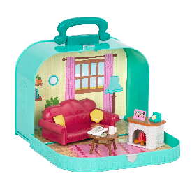 Living room playset in carry case