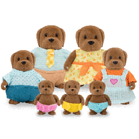 Dog large family set