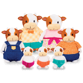 Cow large family set
