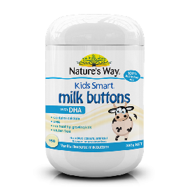 Kids milk buttons + dha