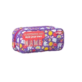 Smiggle wink teeny tiny id cruiser pencil case - purple