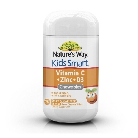 Nature's way kids smart vitamin c + zinc + d3  (chewables)