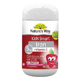 Natures way kids smart iron + vitamin c  (chewables)