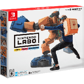 Nintedo switch labo robot kit