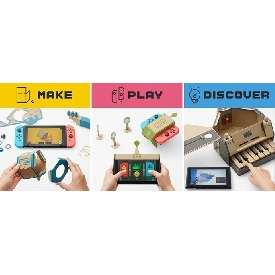 Nintedo switch labo variety kit
