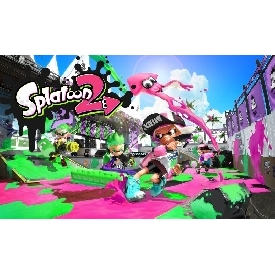 Switch game splatoon 2