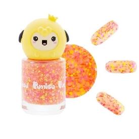 Puttisu glitter pangpang nail g01 red spot