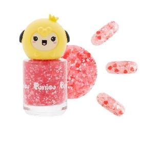 Puttisu glitter pangpang nail g02 pink flower garden