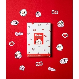 Puttisu congcong sticker soothing pack#02 red