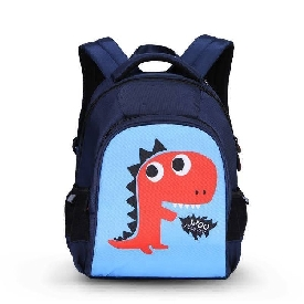 UEK - Blue Dino Backpack  (S)