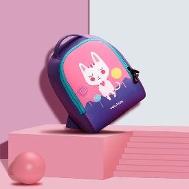 Uek - pink cat backpack  (s)