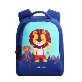 Uek - blue lion backpack  (s)