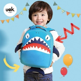 Uek - 3d school bag