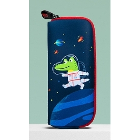 Uek pencil pouch - crocodile astronaut