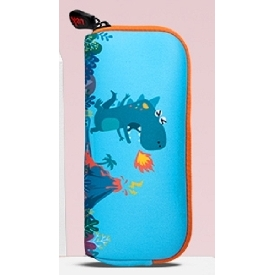Uek pencil pouch - dino blue