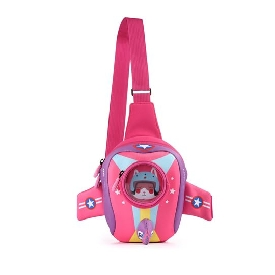 Uek chest bag - airplane pink