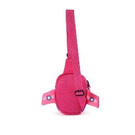 Uek กระเป๋าคาดอก - เครื่องบิน สีชมพู