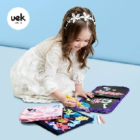 Uek painting book - unicorn