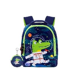 Uek กระเป๋าเป้ลายนักบินอวกาศจระเข้  (l)