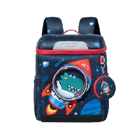 Uek kindergarten backpack - rocket dino