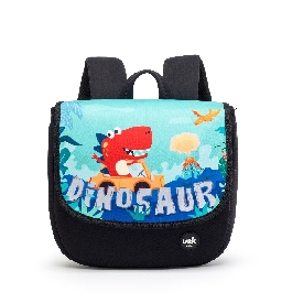Uek nursery backpack - dino blue