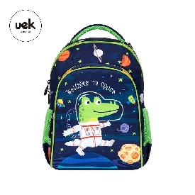 Uek polyester backpack - astronuat blue