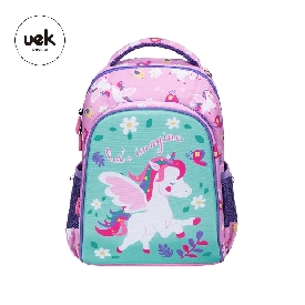 Uek polyester backpack - unicorn eden