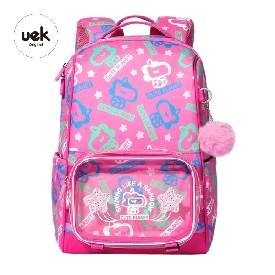 Shell kids school backpack - unicorn pink