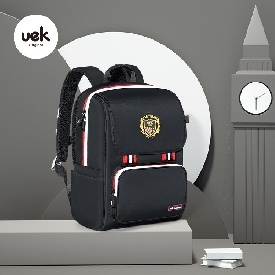School backpack british style - black