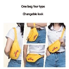 กระเป๋าคาดอกเด็ก รุ่นu-fun - ยูนิคอร์น สีชมพู