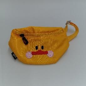 กระเป๋าคาดอกเด็ก รุ่นu-fun - เป็ด สีเหลือง