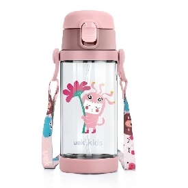 Uek tritan water bottle 2 in 1 - fairy tale