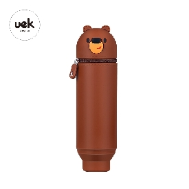U-fun pencil pouch : bear brown (s)