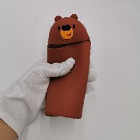 ถุงดินสอ รุ่น u-fun : หมี สีน้ำตาล (s)