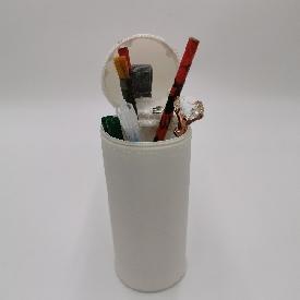 ถุงดินสอ รุ่น u-fun : แมว สีขาว (s)