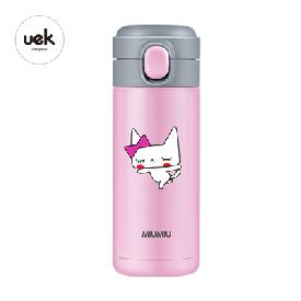 Vacuum cup - cat pink