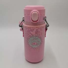 Vacuum cup - fancy star pink